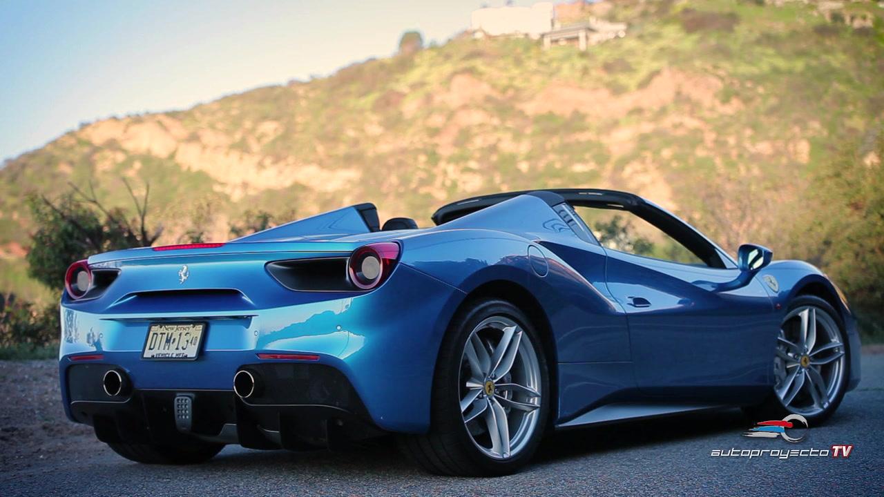 Ferrari 488 Spider 2017 Exclusividad A Partir De 260 000 Autoproyecto