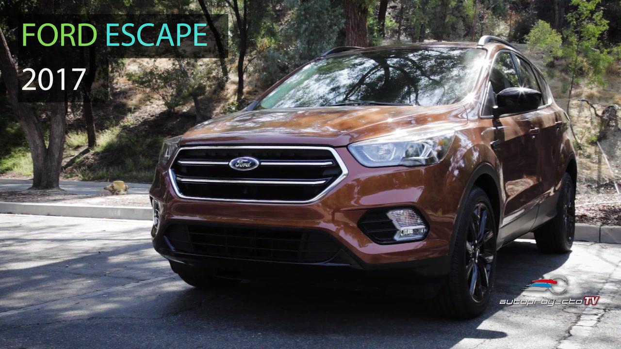Ford Escape Se 2017 Video Y Precio De 31 470 Autoproyecto