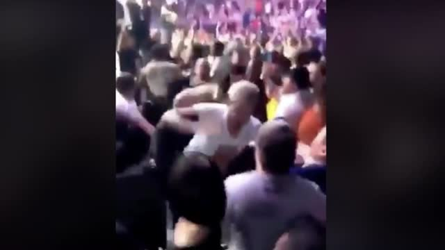 We Now Have Video Of Khabib's Flying Face Stomping Of Dillon