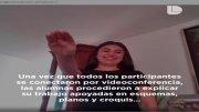 Estudiantes de la UNAM presentan examen profesional en línea