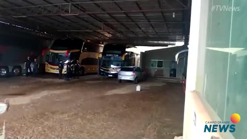 PF faz operação contra esquema de envio de drogas em ônibus