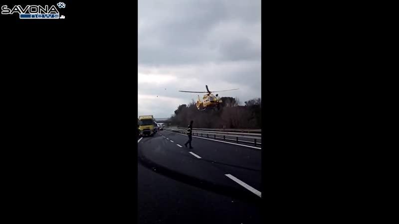 Accidente fatal en la A10 en Ceriale