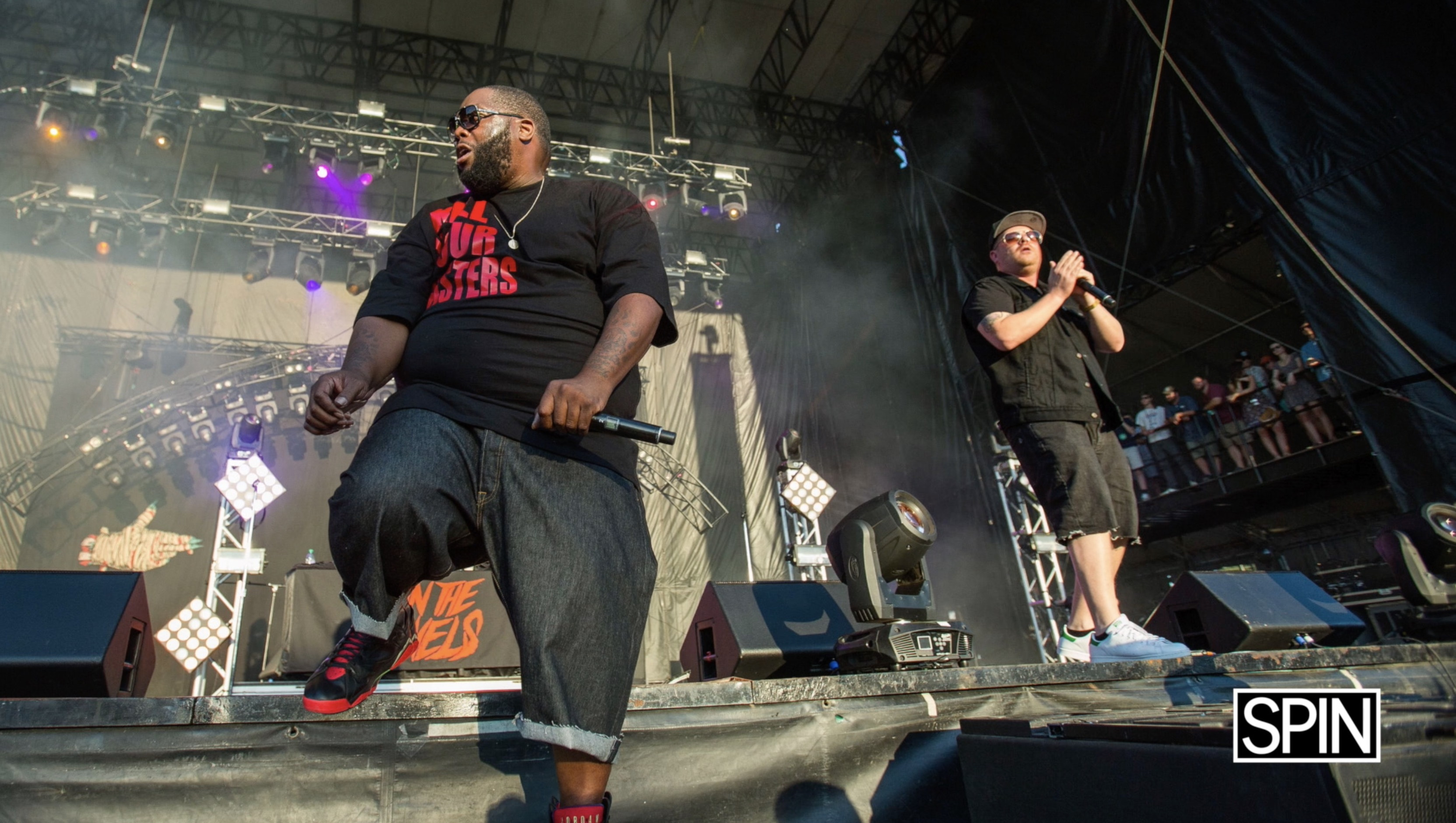 Run The Jewels X SPIN Cover Story: Outtakes