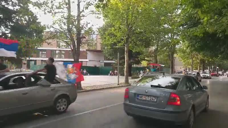 Auto-litija U Nikšiću