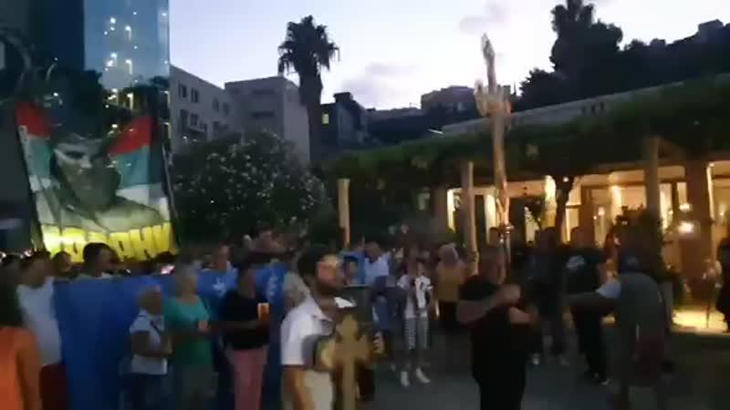 Budva, Protest Zbog Zakona O Slobodi Vjeroispovijesti