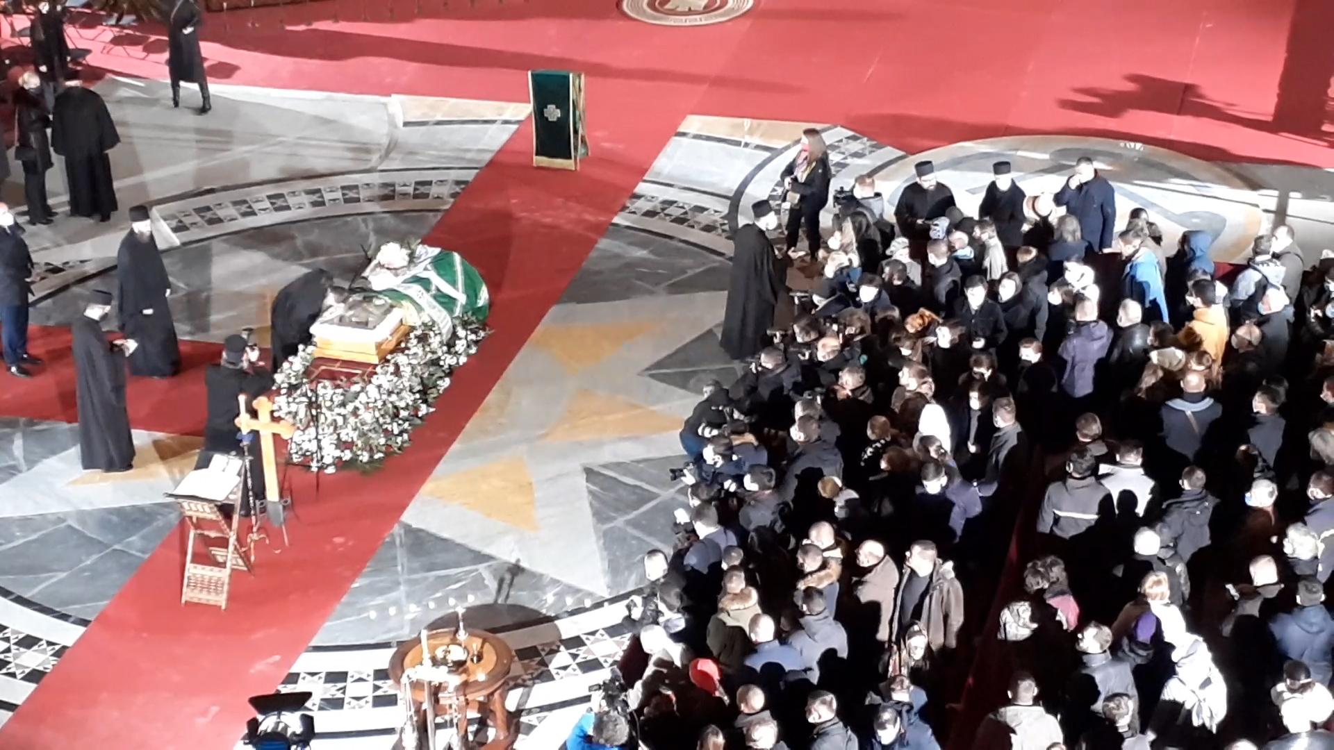 Srbija se oprašta od patrijarha Irineja