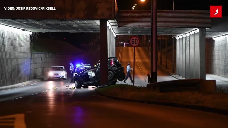 Prometna nesreća na Aleji Bologne