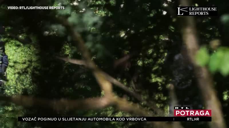 Snimka RTL-a hrvatske policije koja mlati migrante na granici