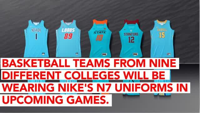 9537b42f2df Nike Unveils N7 College Basketball Uniforms in Honor of Native American  Heritage Month
