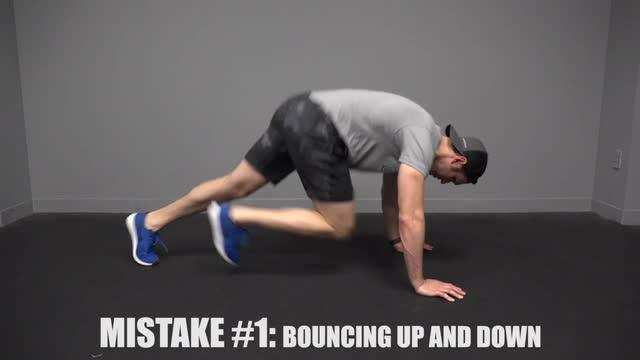 mountain climbers exercise form