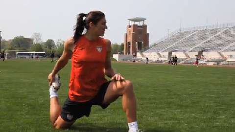 low priced 588b8 86cdf Meet Your U.S. Olympians  Hope Solo on Dreams and Training