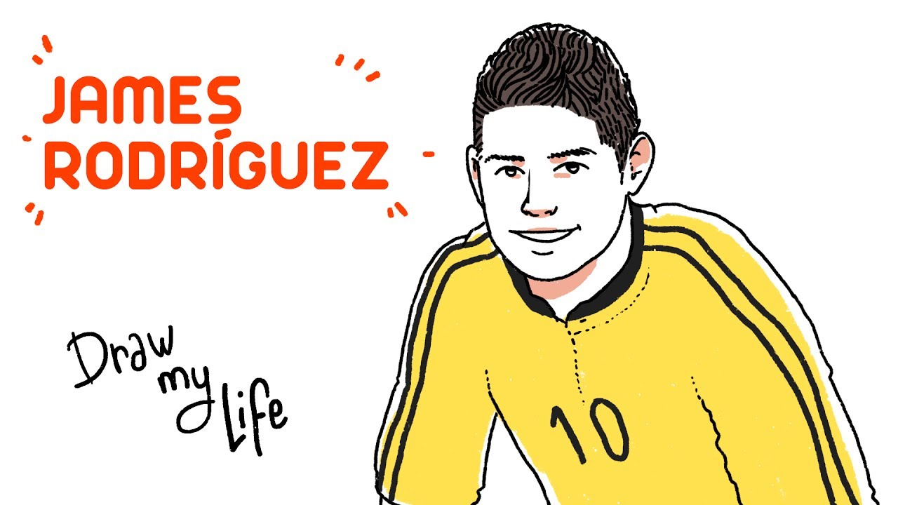 Aficionados Recrean La Vida De James Rodríguez Con Dibujos