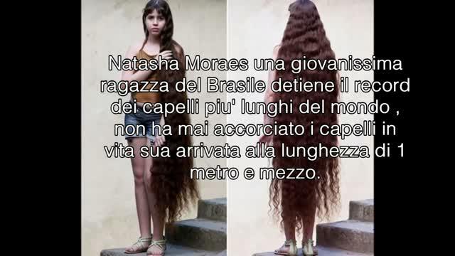 Bambina con i capelli piu lunghi del mondo - Acconciature ...