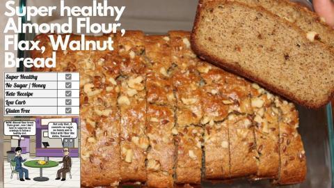 Hideout tv - Super Healthy Almond Flour, Flax, Walnut Keto