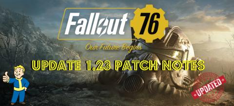 Hideout tv - Fallout 76 | Update 1 23 Patch Notes | Power Armor