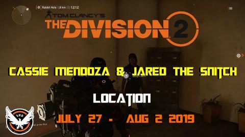 Azw Descargar Hideout tv - The Division 2   Cassie Mendoza