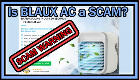 Is BLAUX Portable AC a SCAM or A Great Deal? - HideoutTV